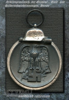 Medal za Kampanię Zimową na Wschodzie 1941/42 mm25