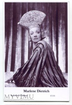 Marlene Dietrich Swiftsure Postcards 17/13