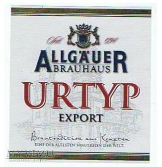urtyp export