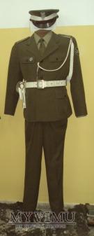Mundur służbowy podoficera WSW