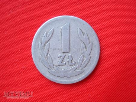 1 złoty 1966 rok