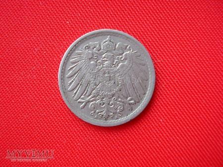 5 pfennig 1914 rok