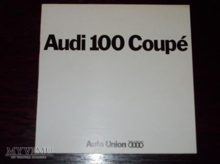 Prospekt AUDI 100 COUPE