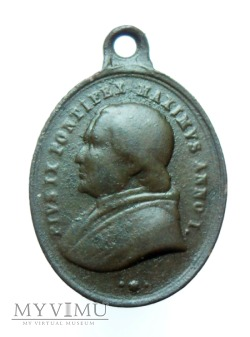 Pius IX - 1. rocznica i M.B. Częstochowska