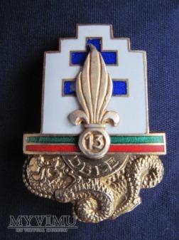 13e demi-brigade de Légion étrangère-srebro