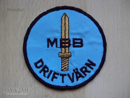 Oznaka organizacyjna: MBB DRIFTVÄRN