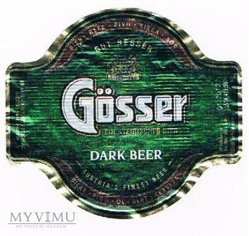 gösser dark beer