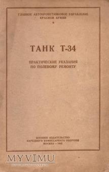 Czołg T-34. Instrukcja z 1942 r.