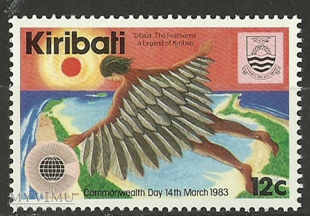 Duże zdjęcie Legend of Kiribati.