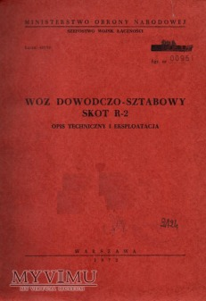 SKOT R-2. Opis techniczny z 1972 r.