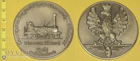 Medal kolejowy - usługowy Muzeum Historii Kolei