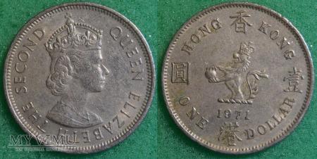 Hong Kong, 1 dolar 1971