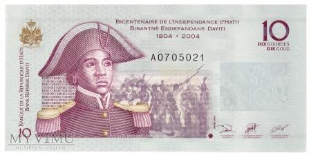 Haiti - 10 gourdes (2004)