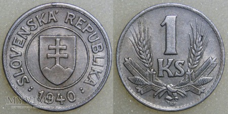 Słowacja, 1 Koruna 1940