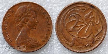 Australia, 2 centy 1970