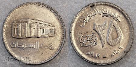 Sudan, 25 ghrish 1989