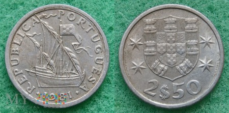 Portugalia, 2,50 ESCUDOS 1981