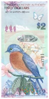 Bermudy - 2 dolary (2009)