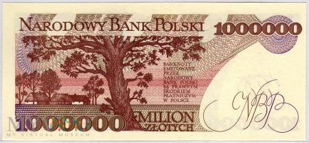"""MC 189 - 1000000 Złotych - 1991 - seria """"A"""""""