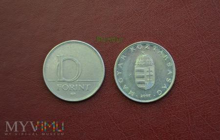 Moneta węgierska: 10 forint