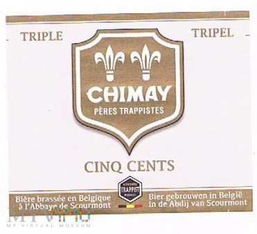 chimay triple cinq cents