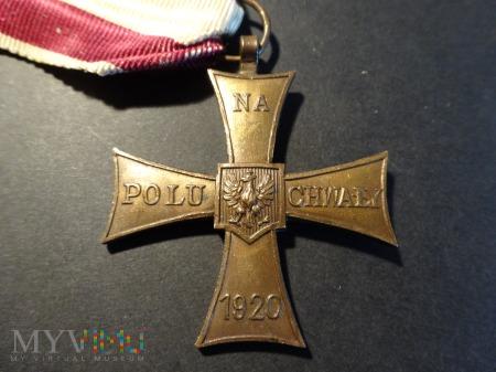 Duże zdjęcie Krzyż Walecznych;wykonanie Londyńskie z błędem:19.