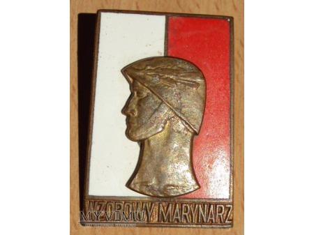 Odznaka Wzorowy Marynarz wz.61 z legitymacją