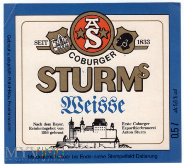 STURMs Weisse