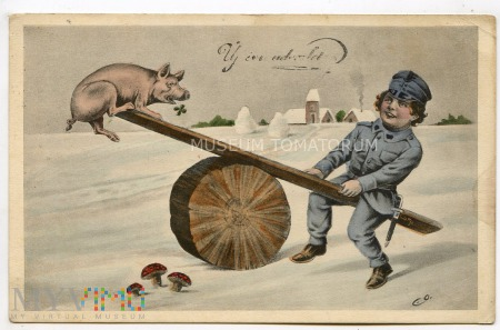 Świnka Noworoczna 1917