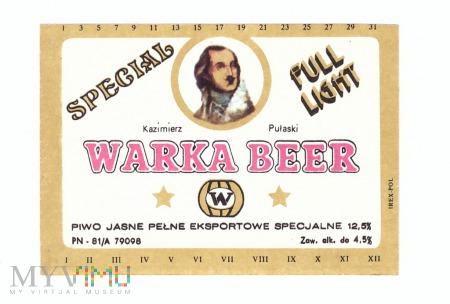 Warka beer special