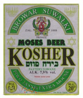 Kosher, moses beer
