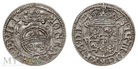 Półtorak 1619 Wilno - bardzo rzadki