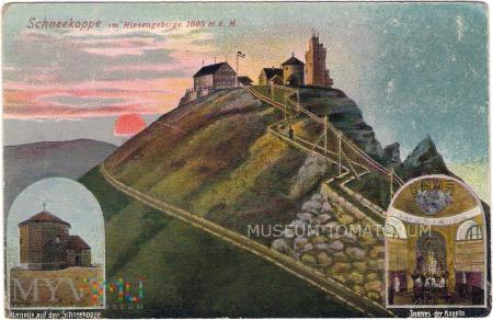 Karkonosze Śnieżka Schneekoppe - 1920
