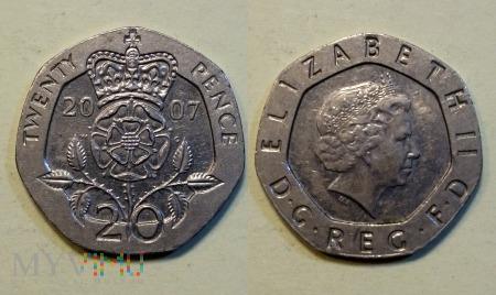 Wielka Brytania, 20 PENCE 2007