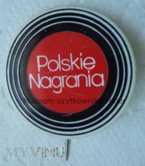 Polskie Nagrania - odznaka