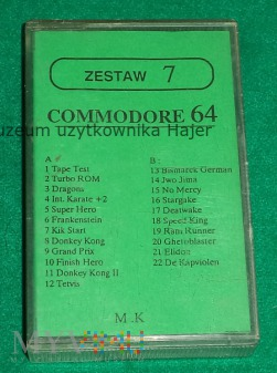 Zestaw 7 Commodore 64 M.K  - gra