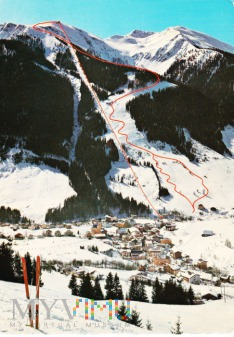 Skidorf Saalbach