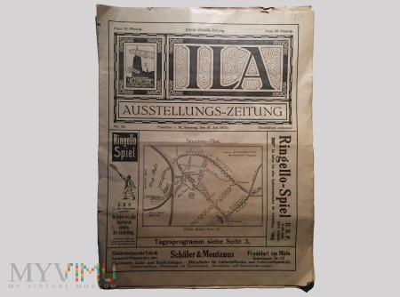 ILA AUSSTELLUNGS-ZEITUNG, 31. Juli 1909