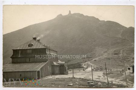 Karkonosze Śnieżka Schneekoppe 1957