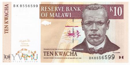 Malawi - 10 kwacha (2004)