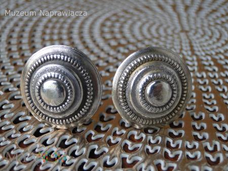Rozety srebrne oficerskie