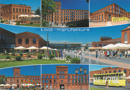 Łódź - manufaktura