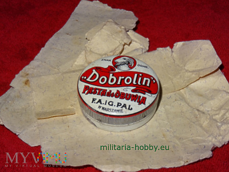 Pasta do obuwia Dobrolin