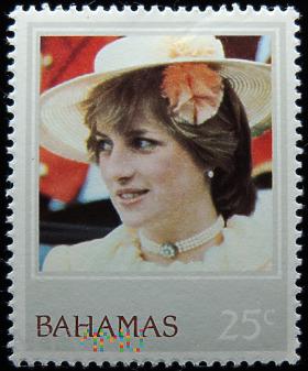 Bahamy 25c księżna Diana