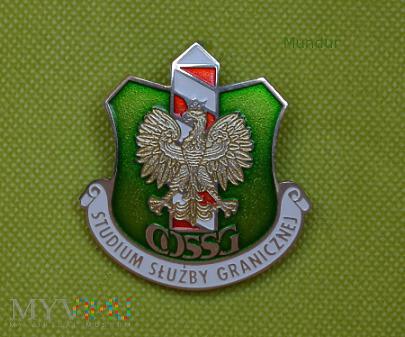 Odznaka absolwenta Studium Służby Granicznej COSSG