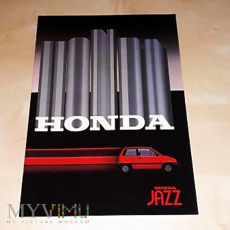 Duże zdjęcie Prospekt Honda Jazz 1983