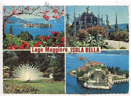 Lago Maggiore - Isolla Bella - 1977