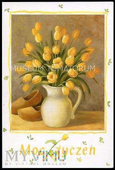 Portelli - Tulipany w wazonie