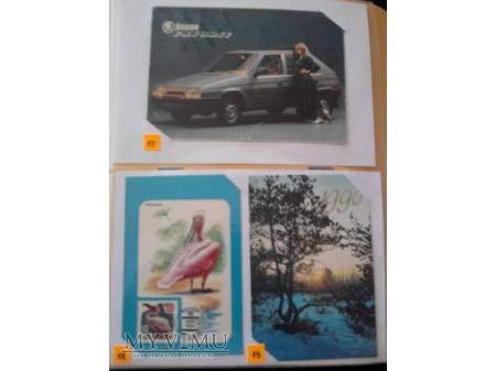 Kalendarzyki 1990