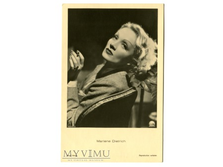Duże zdjęcie Marlene Dietrich Verlag ROSS 9309/3